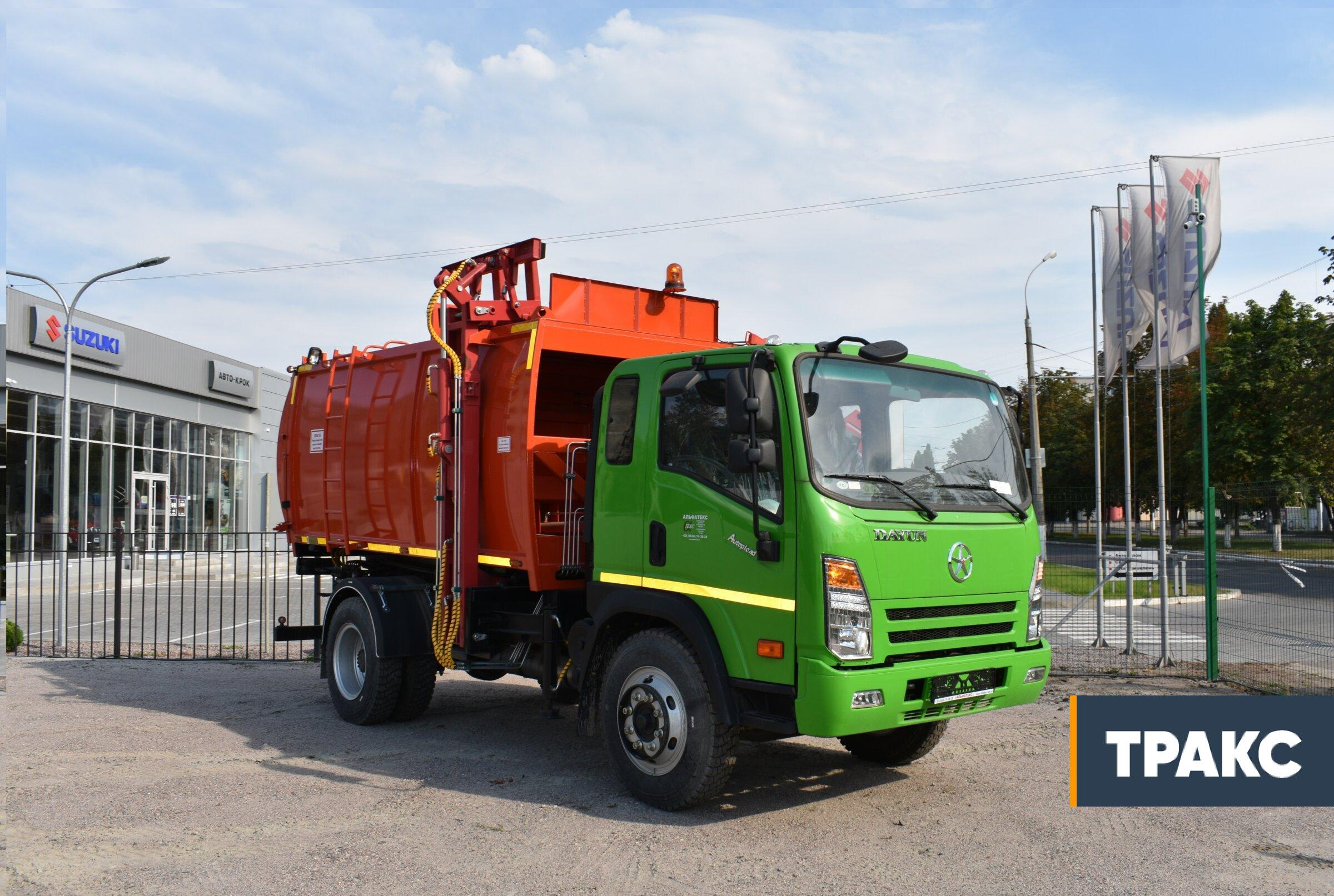 Garbage-truck-with-side-loading-AT-4022-on-DAYUN-CGC1120-chassis-1